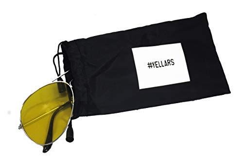 DB Jake Paul YELLARS JP Signature #YELLARS Night Vision Sunglasses, Silver Metal Frame …