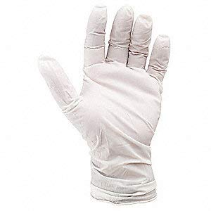 Cleanroom Gloves, Nitrile, XL, 6 mil, PK100 by SHOWA (Image #1)