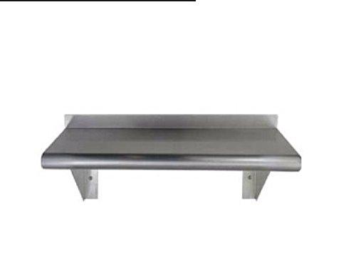 Stainless Steel Wall Mount Shelf 18 x 30 - NSF - Heavy ()
