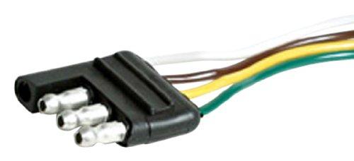 Trailer Hopkins Wiring (EAZ LIFT 30ft 30' Long 4-Way Wishbone Trailer Harness Male Plug (64847))