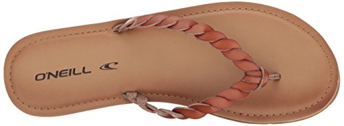 O'Neill Women's Lucille Flat Sandal Cognac S5T4Pivxb