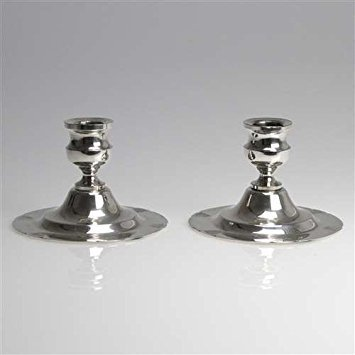 Poole Siver Co. Candlestick Pair by, Silverplate