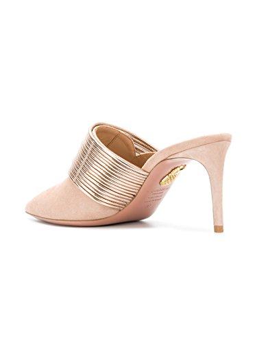 Suède Chaussures Talons RENMIDM0SSP966 AQUAZZURA Femme Rose À CwBqnY4tI