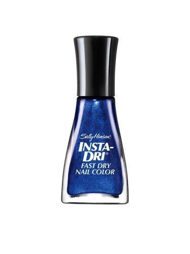 Sally Hansen Insta-dri Fast Dry Nail Color, Co-bolt Blue, 0.31 Fluid Ounce, 2 Ea
