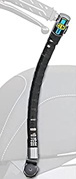 Antirrobo de manillar CLM 5729181 Blindado con soporte INVISIBLE KOMBI para KYMCO MILER E4 125 cc SBC 2017