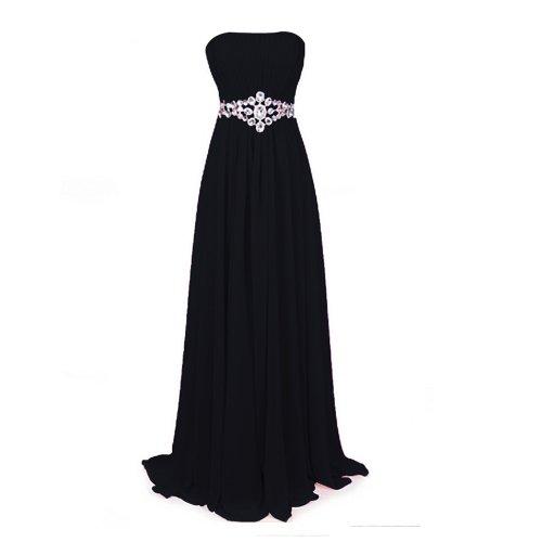 Fashion Plaza Women's Strapless Dress