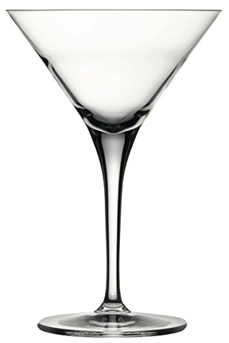 Hospitality Glass Brands 67025-012 Fame Martini, 7.75 oz. Pack of 12