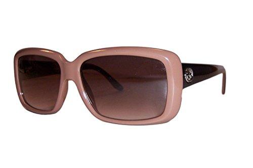 Gucci Sunglasses - 3575 / Frame: Antique Pink Lens: Brown - Gucci Runway Sunglasses