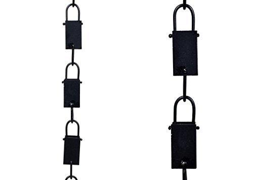 Square link Aluminum Rain Chain 8.5 ft. # 90120