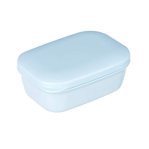 Thelivingstar Portable Plastic Bar Soap Case Holder soap Travel Container Home Outdoor Hiking Camping Travel Home Bathroom Soap Dish Soap Box (Blue)