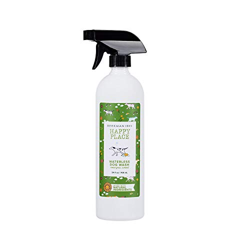(Beekman 1802 Happy Place Waterless Dog Wash - Sweet Grass Scented)