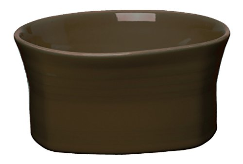 Fiesta 21-Ounce Square Medium Bowl, Chocolate - Homer Laughlin Fiesta Chocolate