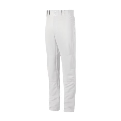 Pro Baseball Pants (Mizuno Youth Select Pro Pants, White,)
