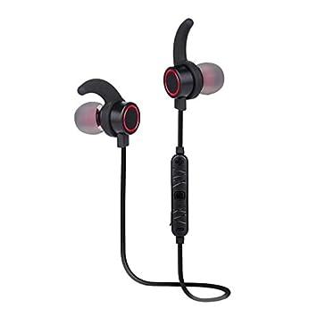 YHLVE Auriculares inalámbricos Estéreo del Bluetooth Que Funcionan con Las Auriculares del Auricular con el Control de Volumen sin Manos del micrófono para ...