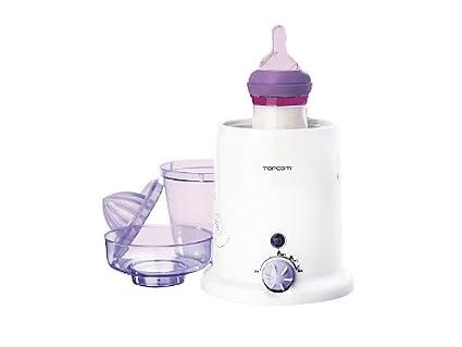 3 in1 Baby Botella de calentador de biberones Esterilizador de Frutas Licuadora (– Calentador,