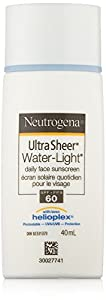 Neutrogena Ultra Sheer Water-light Daily Face Sunscreen SPF 60, 40 mL
