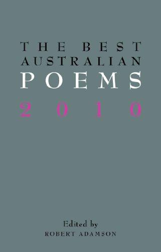 The Best Australian Poems 2010
