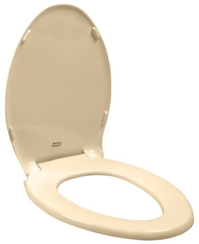American Standard Toilet Seats >> American Standard 5324 019 021 Rise And Shine Elongated Toilet Seat With Cover Bone