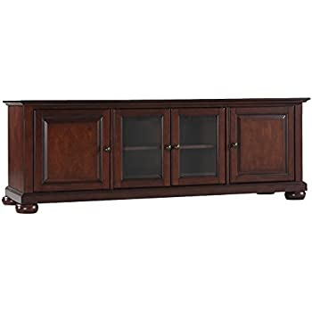 Beautiful Crosley Furniture Alexandria 60 Inch Low Profile TV Stand   Vintage Mahogany