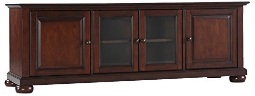 Crosley Furniture KF10005AMA Alexandria 60-inch Low-Profile TV Stand, Vintage Mahogany ()