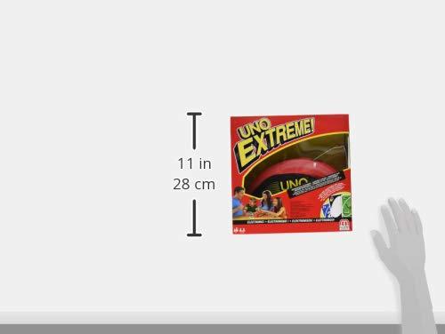 Mattel Games V9364 - UNO Extreme Kartenspiel, geeignet für 2 - 10 Spieler, Spieldauer ca. 15 Minuten, Gesellschaftsspiele und Kartenspiele ab 7 Jahren 6