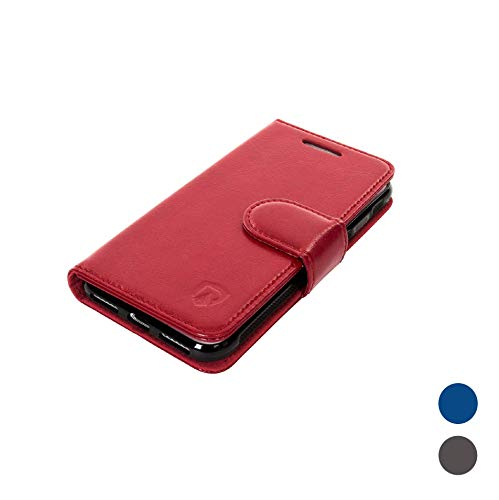 RadiArmor Anti-Radiation Case - Compatible with iPhone 7 and iPhone 8 (4.7 inch Screen) - Lab Certified EMF Protection (Red)