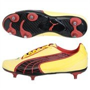 Puma v5.10 blazing/Gelb/Schwarz, Chili Pepper