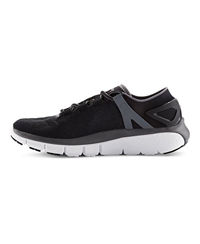 Under Armour Men's UA Speedform Fortis Black/White/Graphite Sneaker 10.5 D - Medium