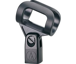 Audio Technica Microphone Stand Clamp, Black, AT8456a, 3'' x 2.5'' x 1''