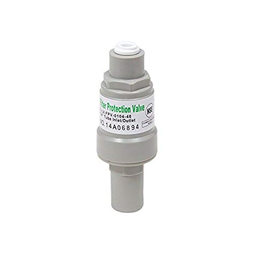 Water Filtration System Pressure Regulator Filter Protector w/ 1/4 Quick Connect (60 psi)