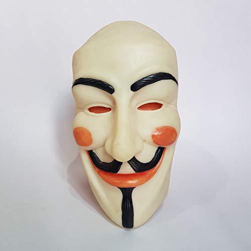 Guy Fox Monster mask Full Head Creepy Scary Rubber mask Hallowee -