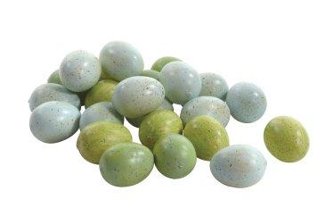 Sullivans Speckled Styrofoam Indoor Decorative Eggs (Green/Blue, Bag of 24 @ 1.25