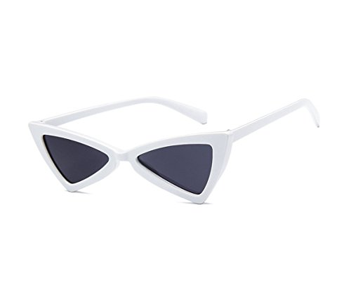 acefd8501c1 Arctic star Triangle Sunglasses Bow Frame Sunglasses (White color) - Buy  Online in Oman.