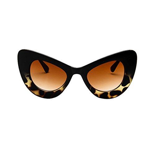 Soleil De Lunettes Mode Tendance Eye Papillon Ketamyy Femme La Sauvage Cadre Lunette Cat Vue Noir À wXffYqB