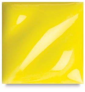 Amaco LG-65 Lead Free Liquid Gloss Glaze, Amber, Gallon