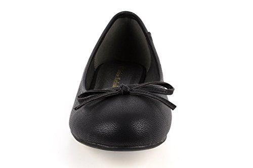 Fabric Range AM5049 EU UK Size Slip Shoes Andres 5 45 Shiny Black to Large 42 8 Sizes Soft 10 to On Machado Flat TPqw5twv