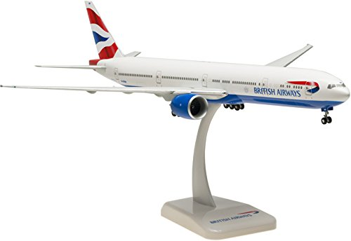 Hogan Wings / Limox - British Airways BOEING 777-336ER ** Triple-Seven ** - Reg. No.: G-STBH - (White - Union Flag with Crest livery) - Scale: 1:200 - Snap-Fit Model