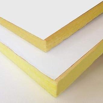 2 fiberglass duct board asj white faced 24 x 48 sheets sold per