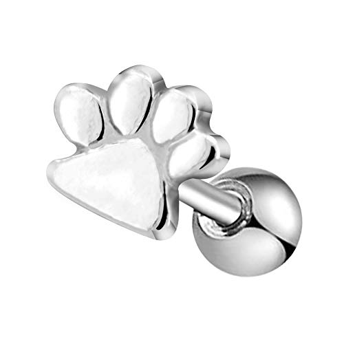 Buy paw print ring stainless steel