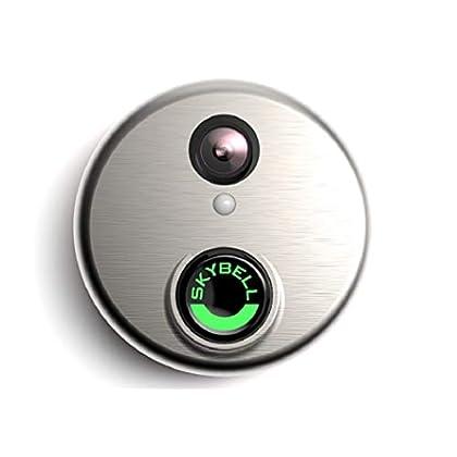 Image of Surveillance Cameras Alarm.com Wi-Fi Doorbell Camera SkyBell HD Edition Silver