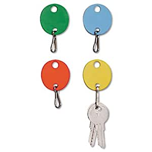 MMF2018009W47 - MMF Oval Snap-Hook Key Tags