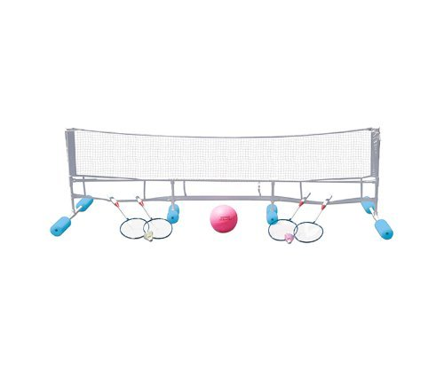 Super Combo Water Volleyball Game (Poolmaster 72708 Super Combo Water Volleyball / Badminton Game by Poolmaster)