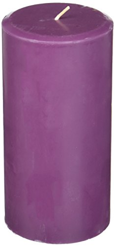 - Northern Lights Candles Plum Orchid & Dahlia Fragrance Palette Pillar Candle, 3 x 6