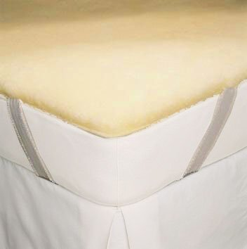 SnugSoft Deluxe Wool Mattress Cover - King