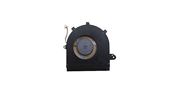 Z-one Fan Replacement for Dell Inspiron 7586 2-in-1 Series CPU Cooling Fan 4-Wires 4-pins CN-60MGH 060MGH
