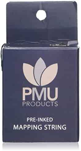 PMU THE ORIGINAL Pre-Inked Microblading String for Brow Mapping - Measuring Tool for Marking Symmetrical Eyebrows (Pack of 1)