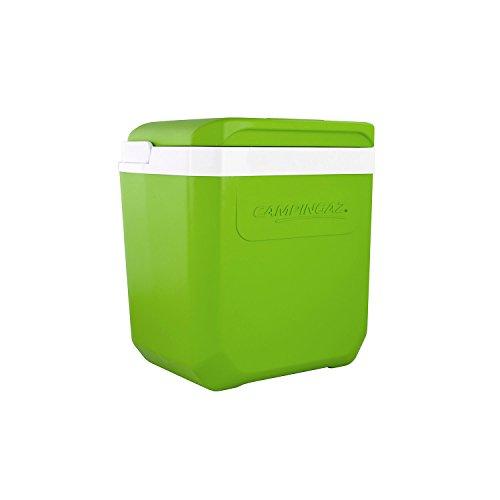 Campingaz Kühlbox Icetime Plus 26 L in limettengrün aus italienischer Produktion mit einer Kühldauer von bis zu 24 Std.