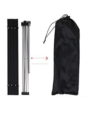 Mzl Outdoor-multifunktionale Ultra Light Aluminium tragbarer Klapptisch Picknick Camping BBQ Klapptisch (56  40  40 cm)