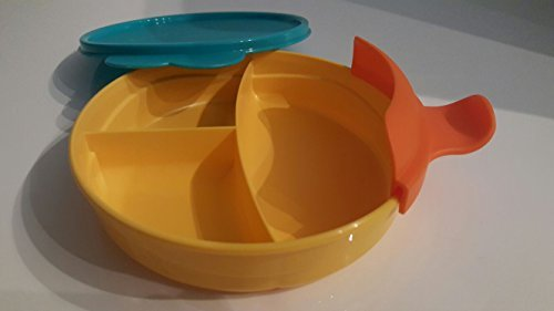 Tupperware Microondas micro-Fix dividido separados Plato de ...