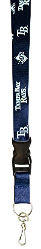 MLB Tampa Bay Devil Rays Lanyard - Tampa Bay Devil Rays Team Colors